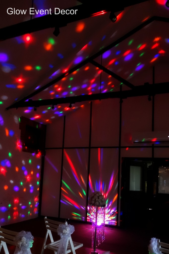 LED disco dome lights