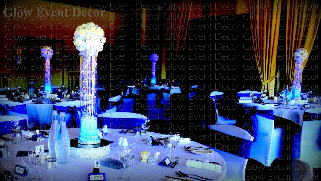 Kissing Balls Glow Event Decor