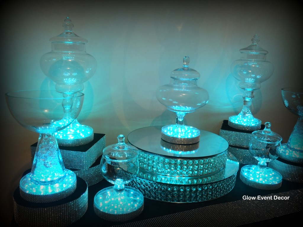 LED candy buffet package
