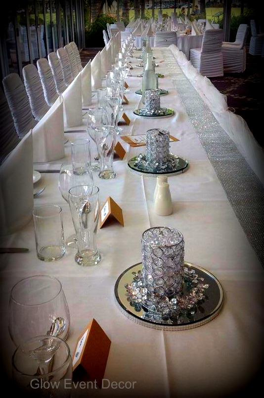 Crystal LED votives