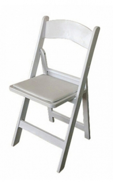White Americana Chair for Hire Glow Event Decor Adelaide
